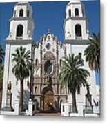 Cathedral Of St. Augustine Tuscon Metal Print