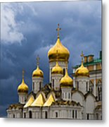 Cathedral Of The Annunciation Of Moscow Kremlin Metal Print
