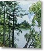 Cathedral Point - Trout Lake Metal Print