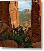 Cathedral Rock 05-012 Metal Print by Scott McAllister