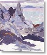Cathedral Rock  Iona Metal Print