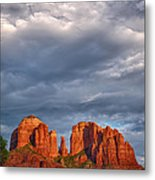 Cathedral Rock Sunset Metal Print by Robert Jensen