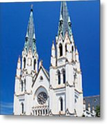 Cathedral, Savannah, Georgia Metal Print