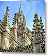 Cathedral Spires Metal Print