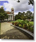 Cathedral Square And Church Metal Print
