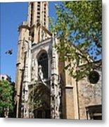 Cathedral St Sauveur - Aix En Provence Metal Print