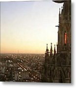 Cathedral Sunset - La Plata Metal Print