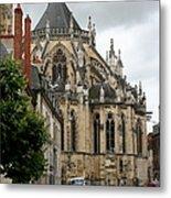 Cathedrale Saint - Cyr - Et - Sainte - Julitte De Nevers Metal Print