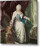 Catherine The Great  Empress Of Russia Metal Print