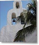 Catholic Church Playa Del Carmen Metal Print