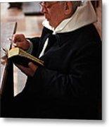 Catholic Priest Metal Print