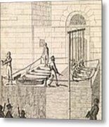 Cato Street Conspiracy Executions, 1820 Metal Print