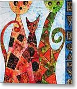 Cats 737 - Marucii Metal Print