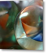 Catseye 1 Metal Print by Mary Bedy