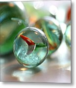 Catseye 3 Metal Print by Mary Bedy