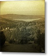 Catskill Mountains New York  Barn-shandelee - Featured In Comfortable Art And All About Ny Groups Metal Print