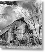 Cattaraugus County Barn 6160b Metal Print