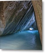 Cave At The Baths Metal Print