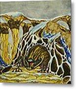 Cave Creature Metal Print