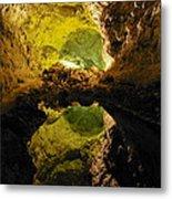 Cave On Lanzarote Metal Print