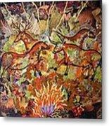 Cave Paintings Metal Print
