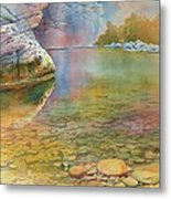 Cave Springs Metal Print by Robert Hooper
