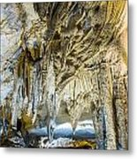 Cave Wall Formations Metal Print