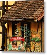 Caveau St Pierre Sign In Colmar France Metal Print