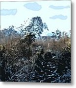 Cavehill In The Snow 2 Metal Print