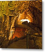 Cavern Aglow Metal Print