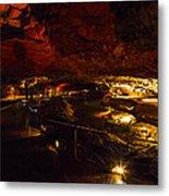 Cavern River Metal Print