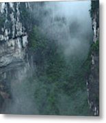 Caving Expedition To Explore The Caves Metal Print