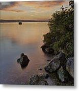 Cayuga Sunset I Metal Print by Michele Steffey