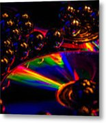 Cd Art 3 Metal Print