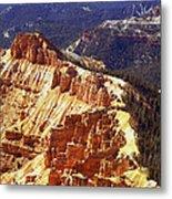 Cedar Breaks Utah Metal Print