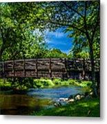 Cedar Creek Bridge Metal Print