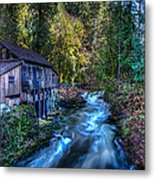 Cedar Creek Grist Mill Metal Print by Puget  Exposure