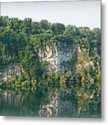 Cedar Hollow Quarry Panorama Metal Print