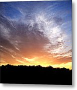 Cedar Lake Sunset Metal Print