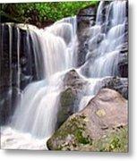 Cedar Rock Creek Falls Metal Print