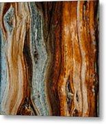 Cedar Texture Metal Print