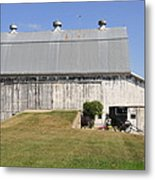 Cedar View Farm Barn Metal Print