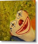 Cee-cee, Child Clown  Metal Print