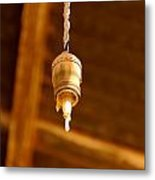 Ceiling Light Metal Print