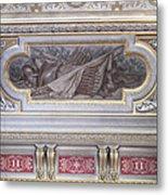 Ceiling Study Chateau De Chantilly Metal Print