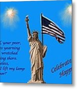 Celebrate Independence Metal Print