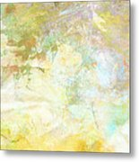 Celebrate Spring Abstract Art  Metal Print
