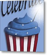 Celebrate The 4th / Blue Metal Print by Catherine Holman