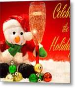 Celebrate The Holidays Metal Print
