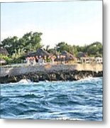 Celebrate The Waves Metal Print